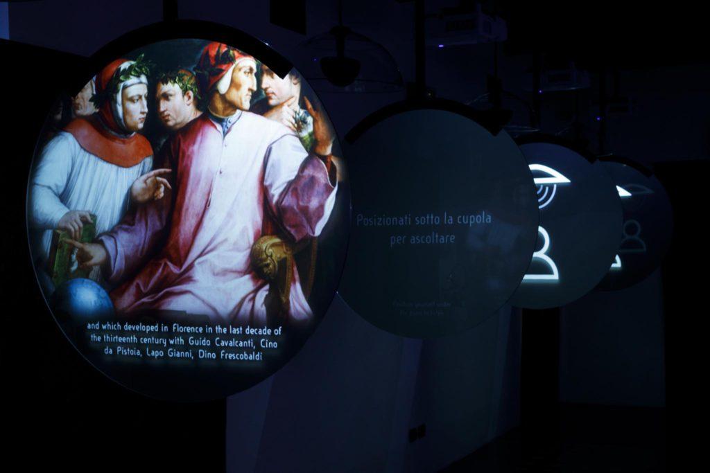 Dante Museum, Time Room | Ph. Marco Parollo, Archive of Ravenna Municipality