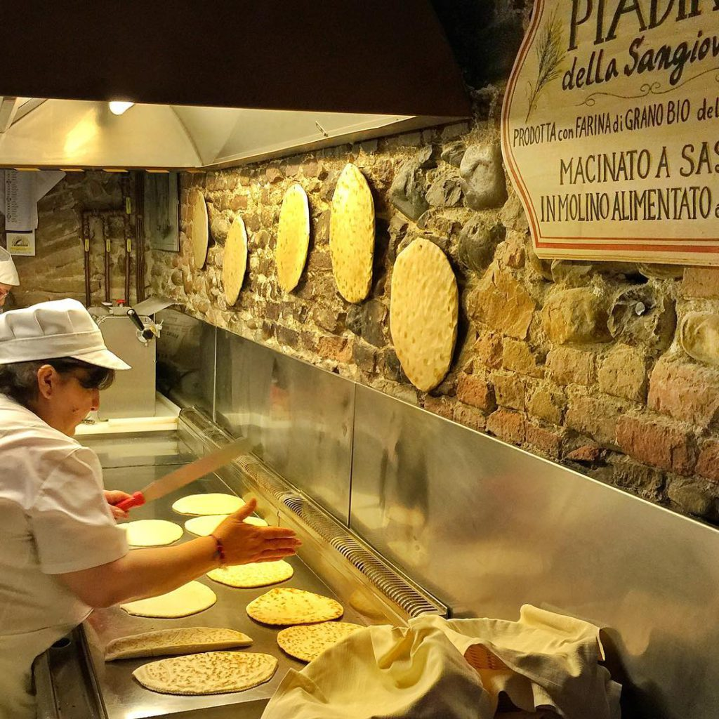 @mikehillerdallas Piadina: the traditional food of Romagna