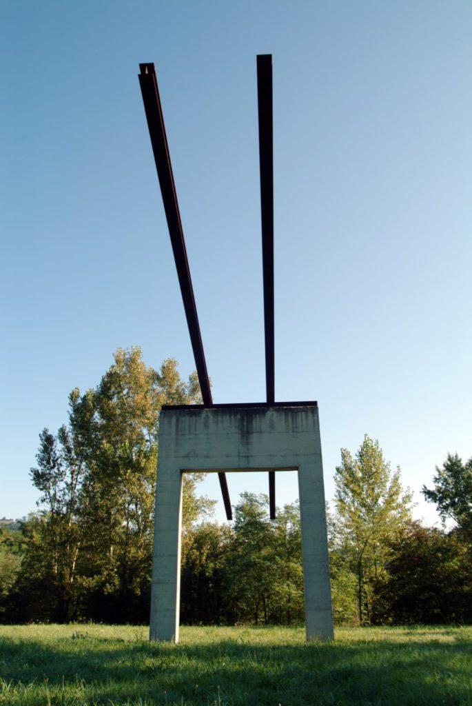 Vie del cielo di Eliseo Mattiacci, Parco di Santa Sofia (FC)