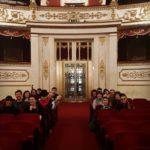 Ecco il gruppo di igers in visita al maestoso #teatrovalli per l'#EmptyTeatroER! Foto di @igersreggioemilia