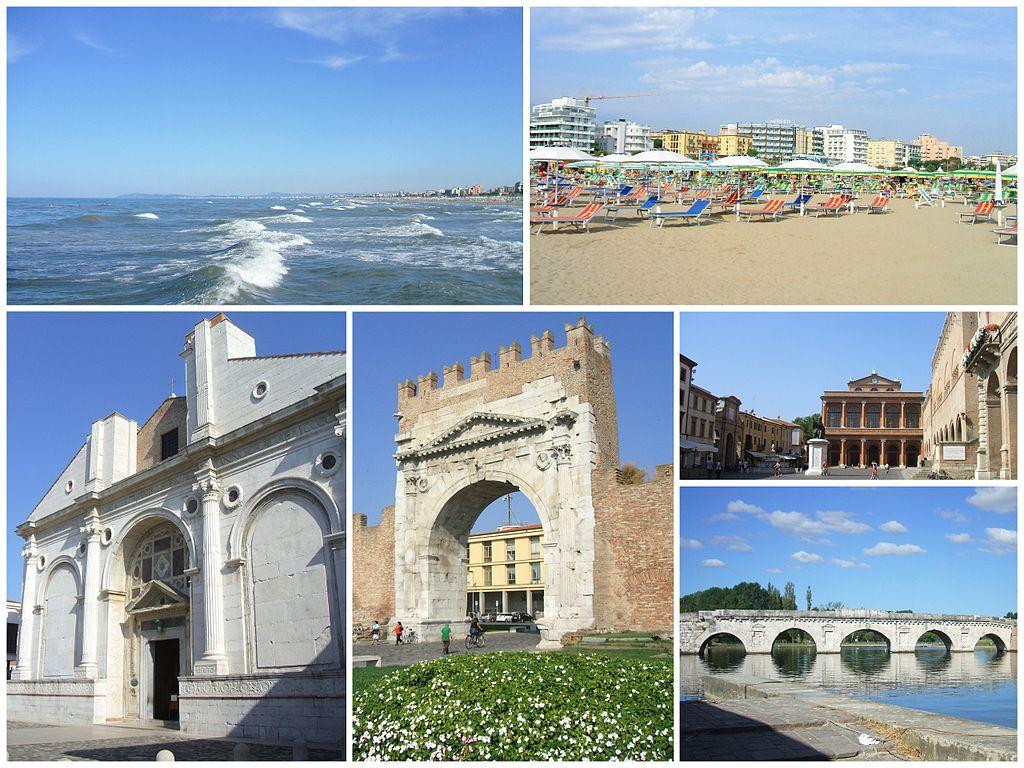 Rimini - Foto di Riminicity via Wikipedia