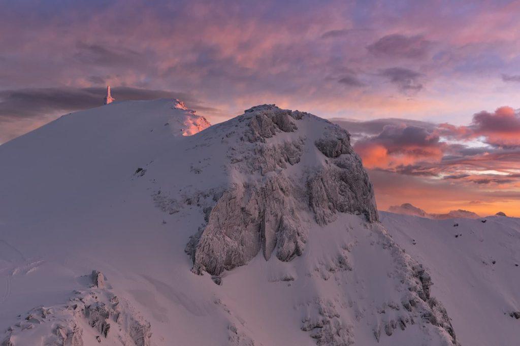 Tramonto sul monte La Nuda, Parco Appennino Tosco Emiliano | Ph. Carlo Alberto Conti WLE2019