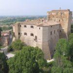Malatestian castle in Santarcangelo di Romagna (Rimini) | Ph. urcatv cometa film