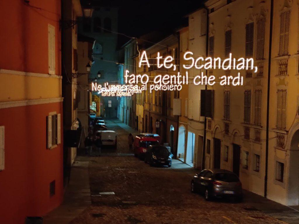 Scandiano (RE), luminarie Carducci