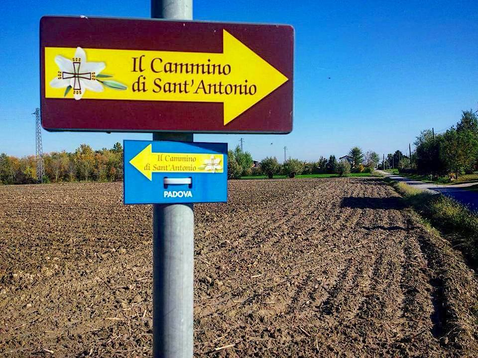 Il Cammino di Sant'Antonio | Segnaletica stradale