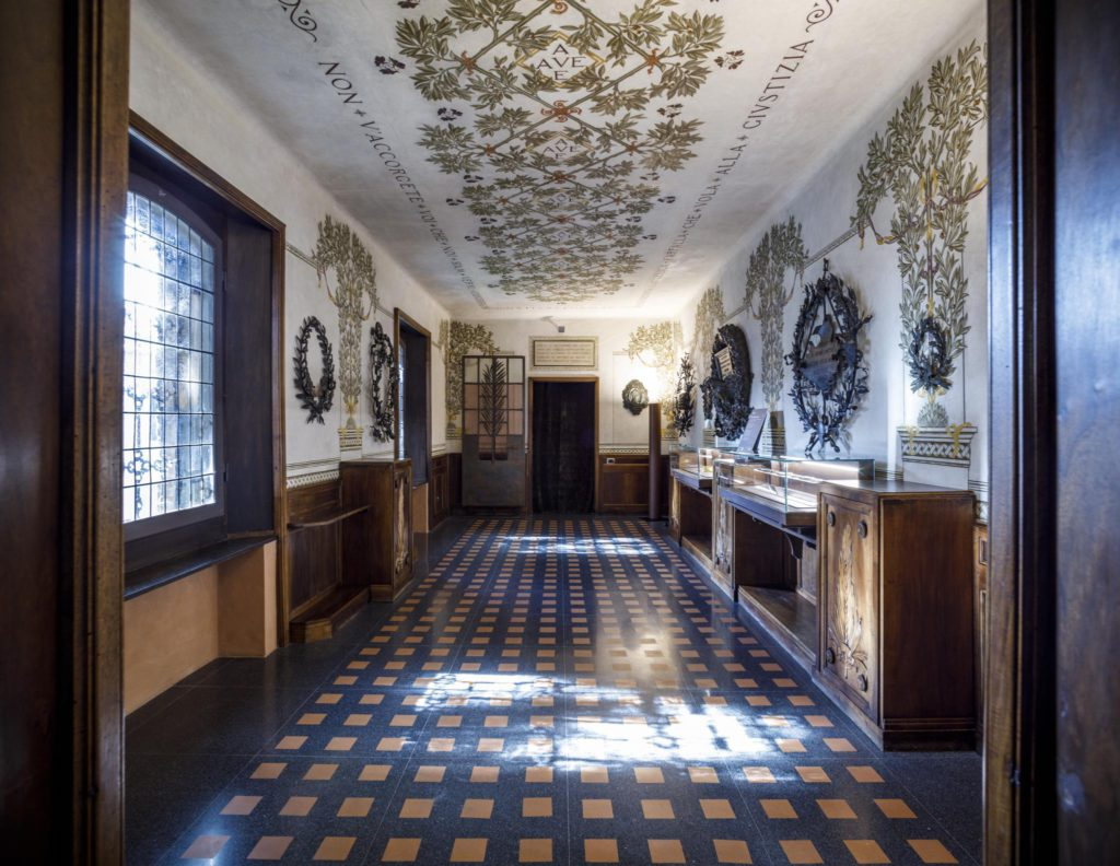 Dante Museum, Montevideo Room | Ph. Marco Parollo, Archive of Ravenna Municipality