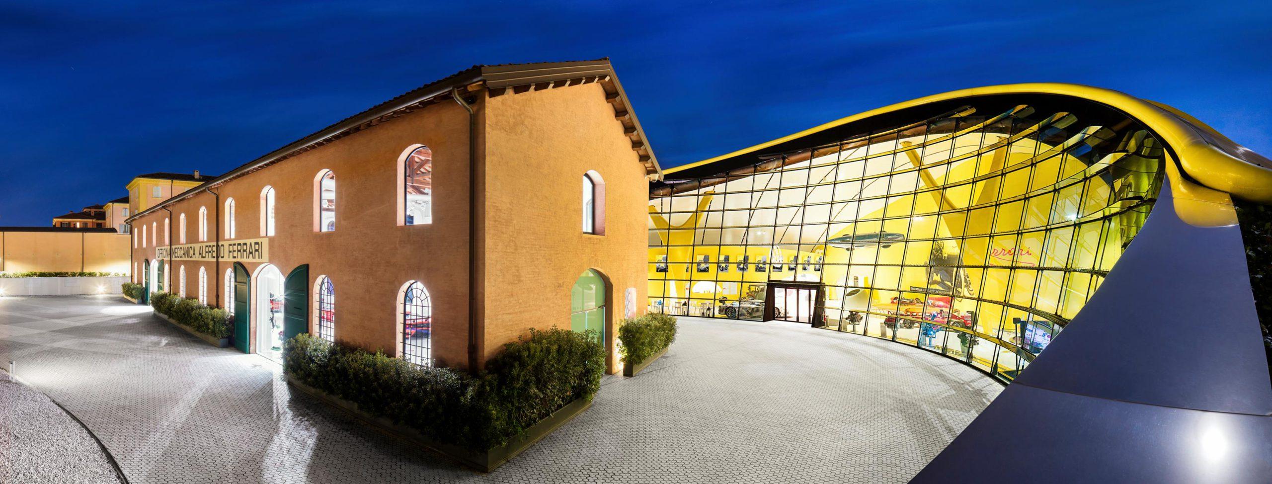 Enzo Ferrari Museum, Modena | Photo © Museo Enzo Ferrari