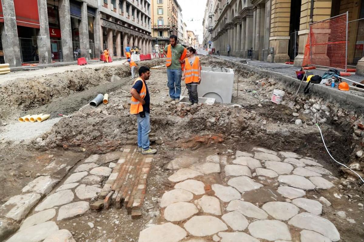 Via Aemilia | Archaeologica excavations in Bologna