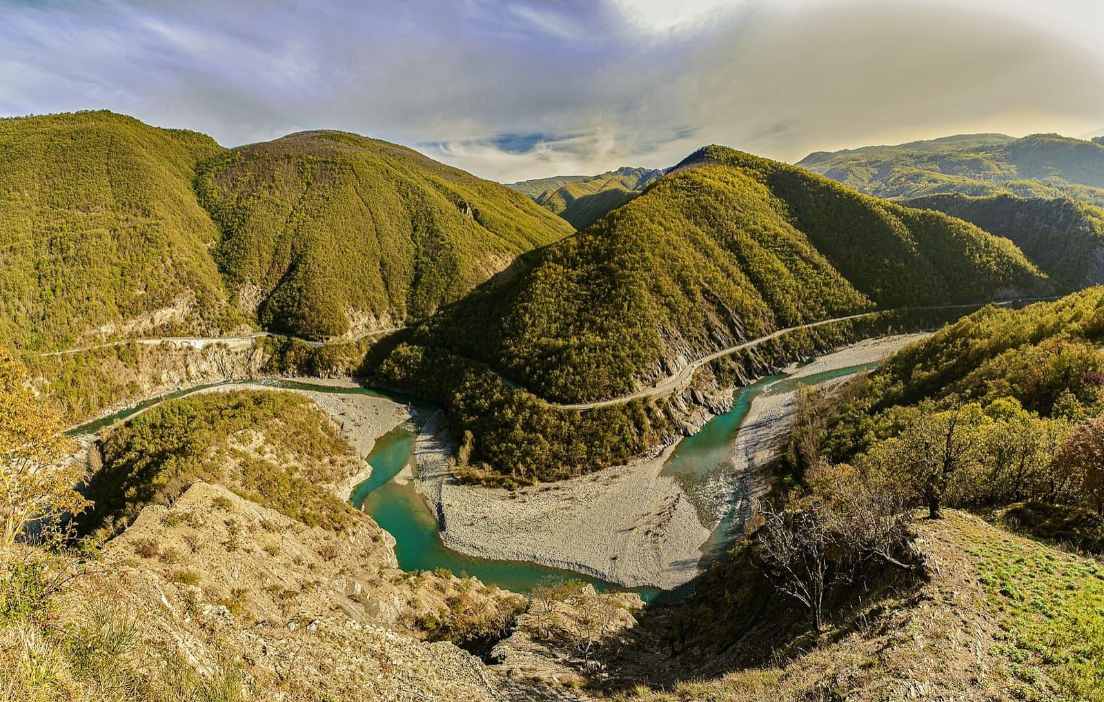 Bends of Trebbia River, Travo   Ph. Anglisani Alessandro WLE2019