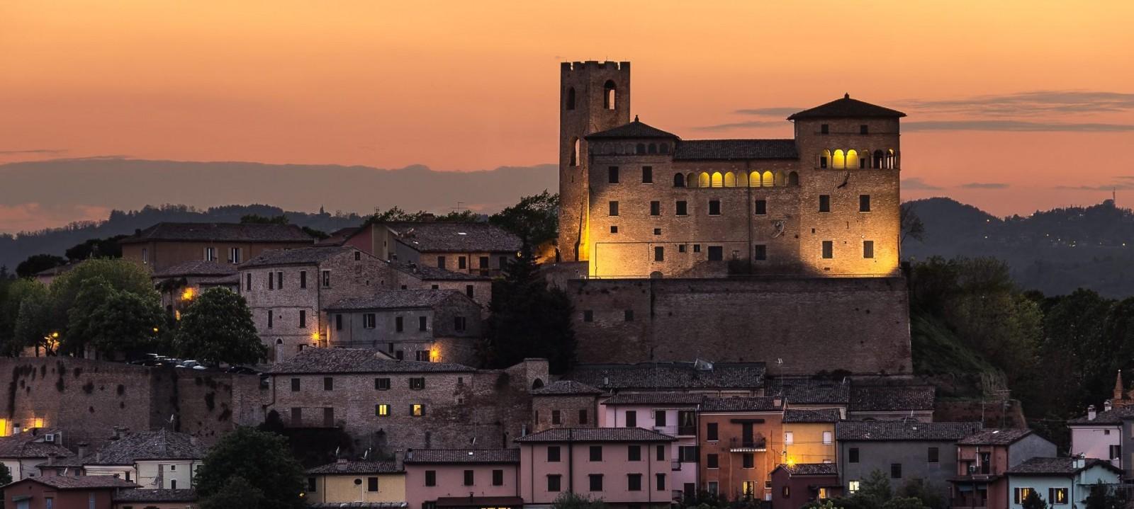 Longiano: tutto il carattere della Romagna