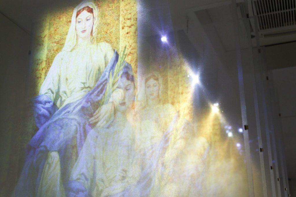 Dante Museum, Rooms of Comedy, paradise | Ph. Marco Parollo, Archive of Ravenna