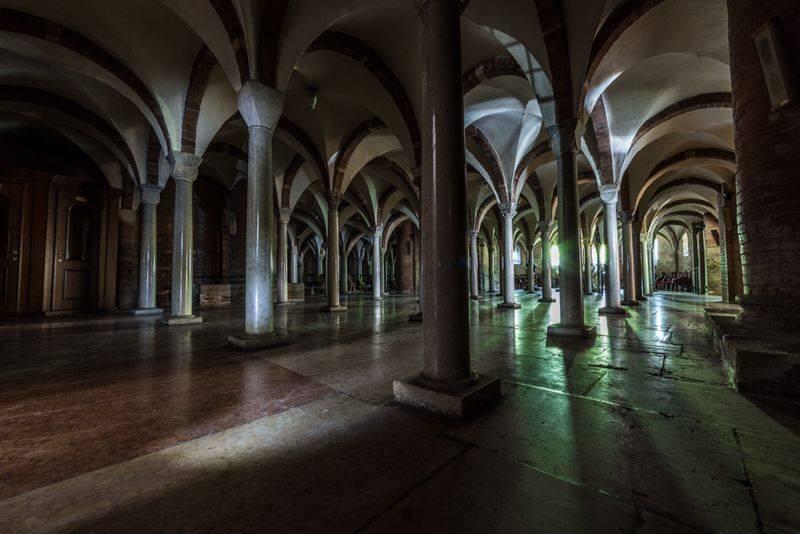 Abbazia di Nonantola, cripta, via Facebook