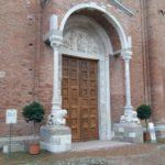 Abbazia di Nonantola, portale, via Facebook