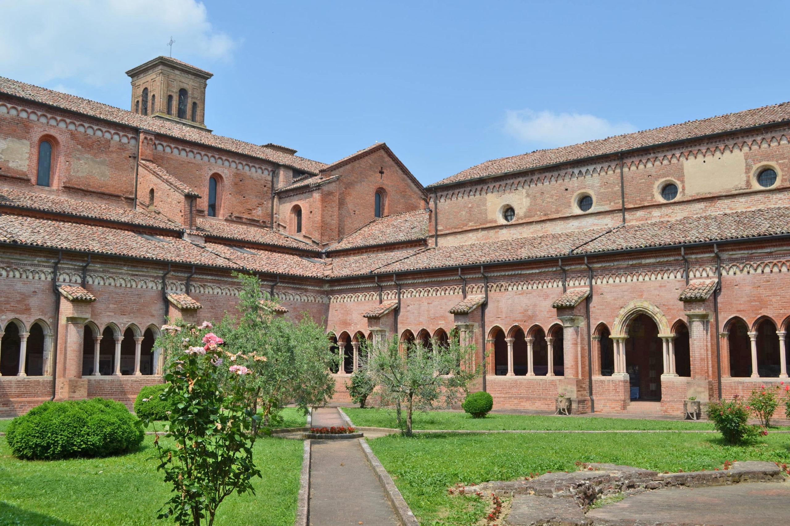 The medieval abbey of Chiaravalle della Colomba