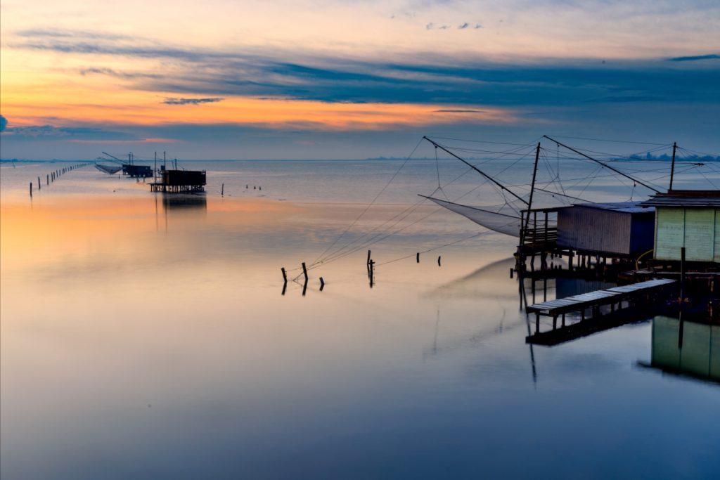 Dawn on Comacchio's Lagoons – Ph. Francesco-1978
