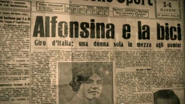 Alfonsina Strada, Gazzetta dello Sport 1924 via occhiosportivo.it
