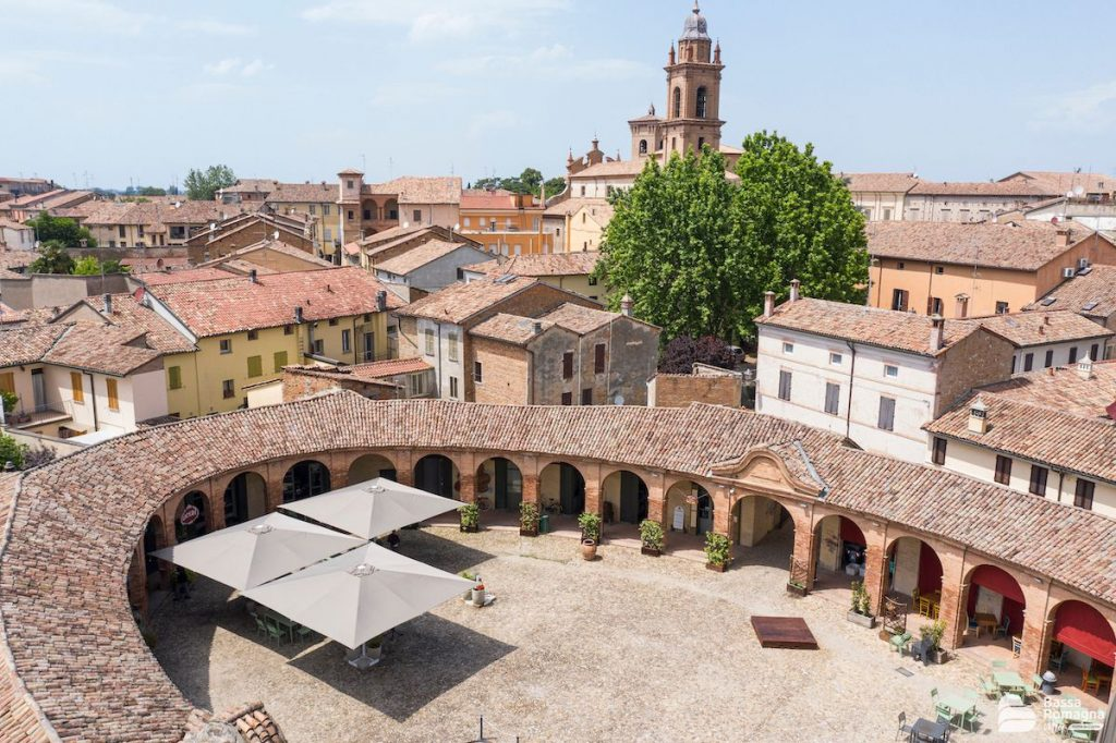 Bagnacavallo (RA), Piazza Nuova, Archivio BassaRomagnaMia, CC-BY-NC-SA 3.0
