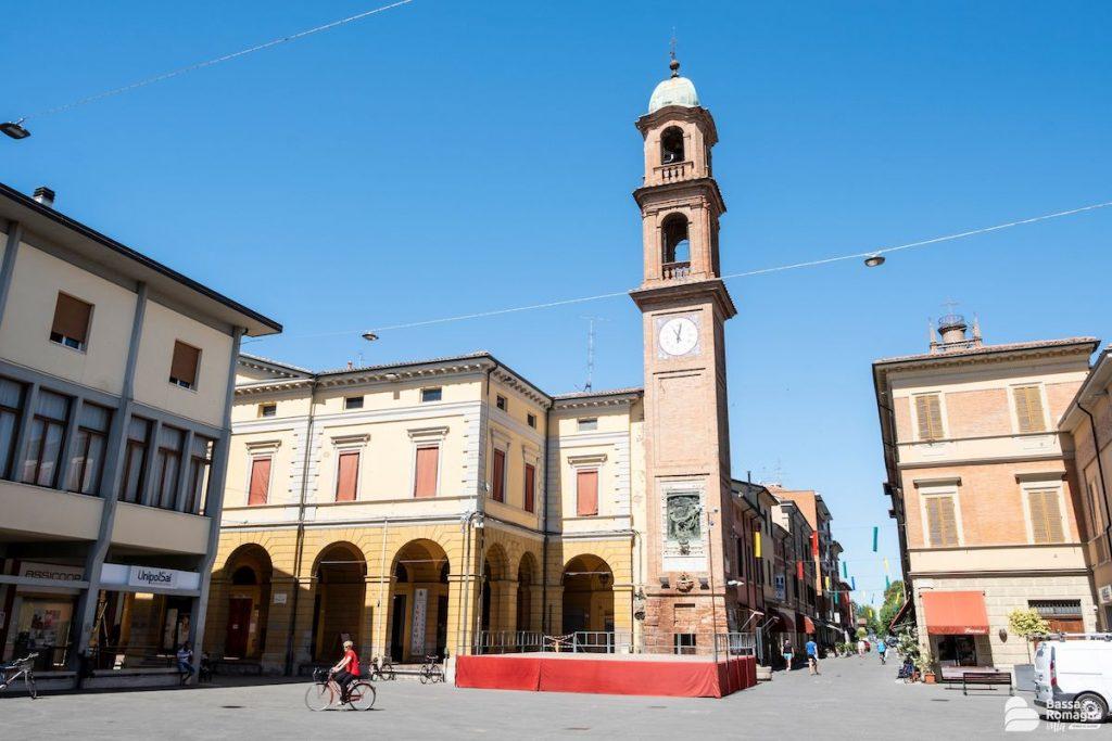 Massa Lombarda (RA), Torre dell'orologio, Archivio BassaRomagnaMia, CC-BY-NC-SA 3.0