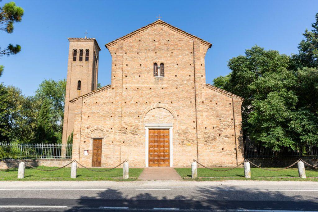Bagnacavallo, Pieve di San Pietro in Sylvis via bassaromagnamia website