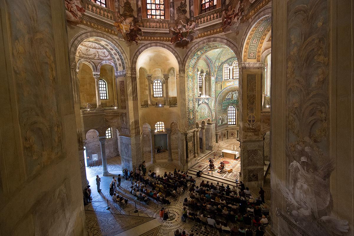 Basilica San Vitale   Photo © Luca Concas