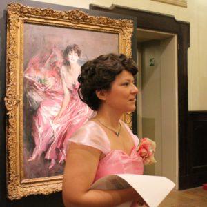 Boldini e le Donne: Visita Teatrale al Castello Estense