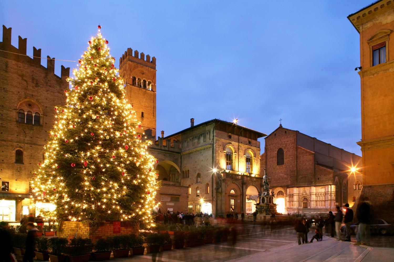 Bologna, bologna Natale Piazza Nettuno