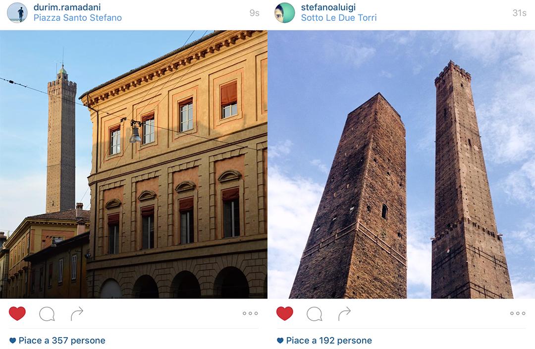 Due Torri, Bologna