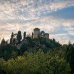 Brisighella, Rocca – Vie di Dante