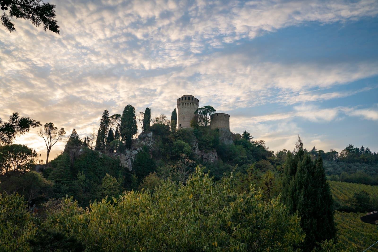 Brisighella Fortress - Dante's Way