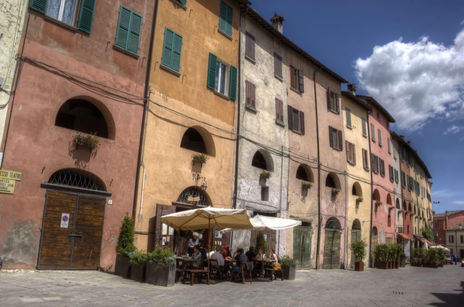 Brisighella, Via degli Asini - Vie di Dante
