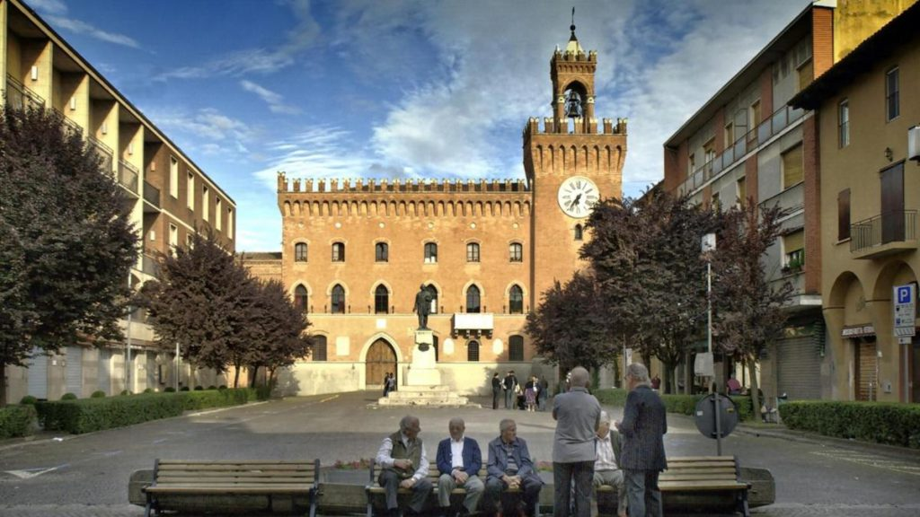 Budrio (BO), Piazza Quirico Filopanti, ph. bolognawelcome.com