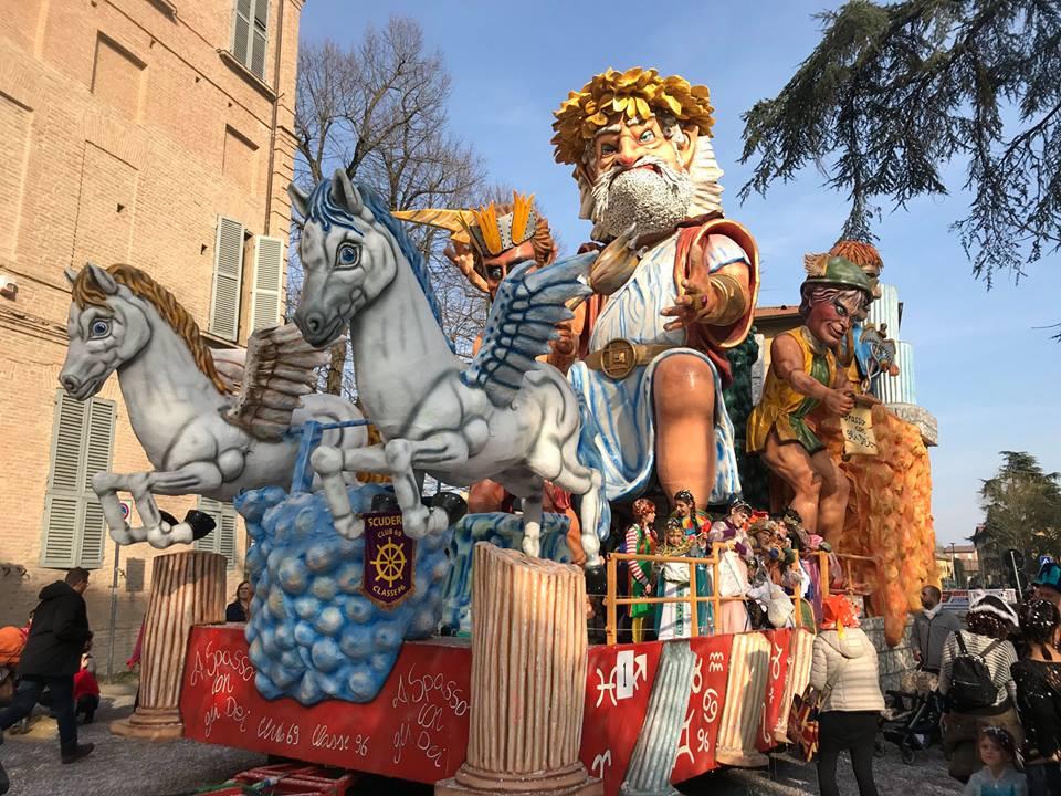 Carnevale Castelnovo di Sotto 2019 | Ph. Carnevale Al Castlein via Facebook