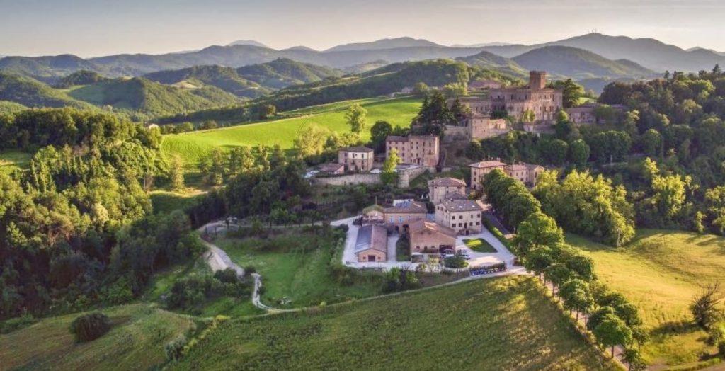 Tabiano terme (PR), Castello di Tabiano