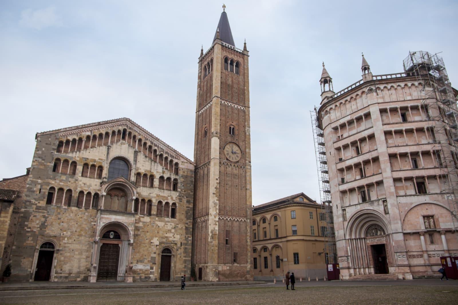 Cattedrale and Baptistery Parma, Emilia Romagna   Ph. Daniel Clarke