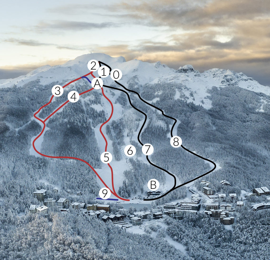 Dove Sciare in Emilia-Romagna