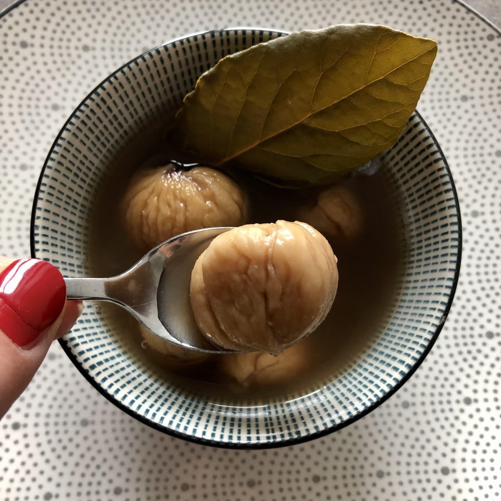 """""""Cuciarul"""" Romagnoli, a nice winter chestnut soup"""
