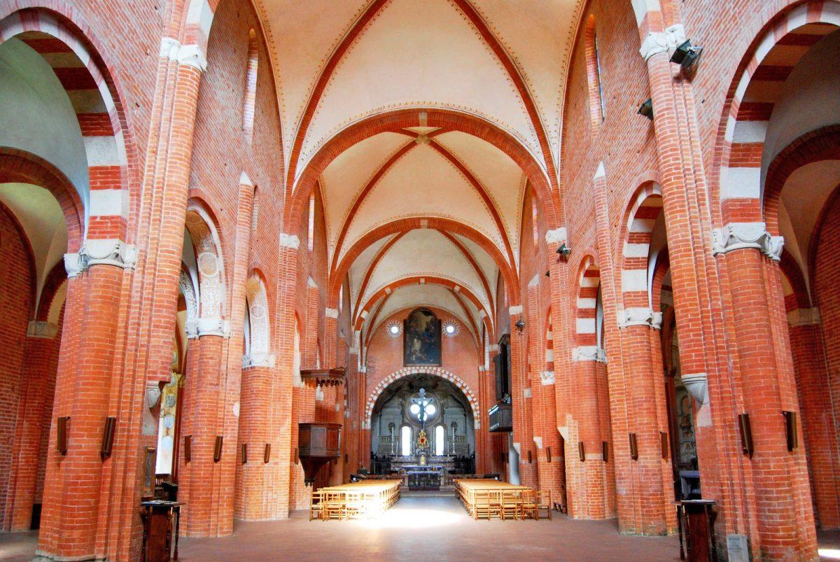 Abbazia di Chiaravalle della Colomba (PC), Chiesa