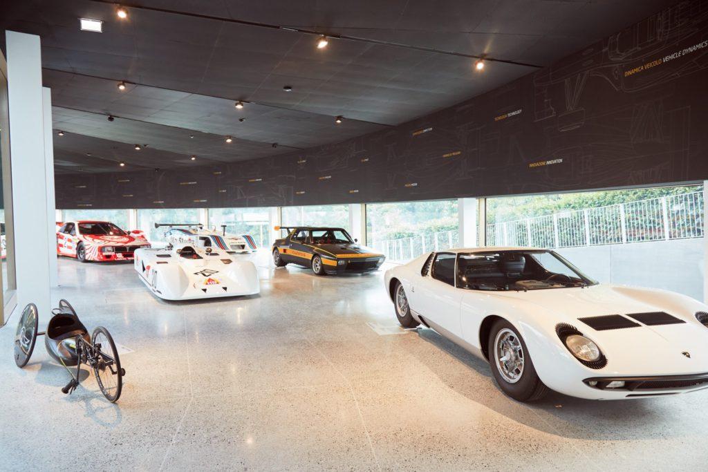 Dallara Galleria Espositiva, Miura – Ph. Dallara