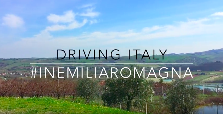 Driving in Emilia-Romagna with @HusbandInTow
