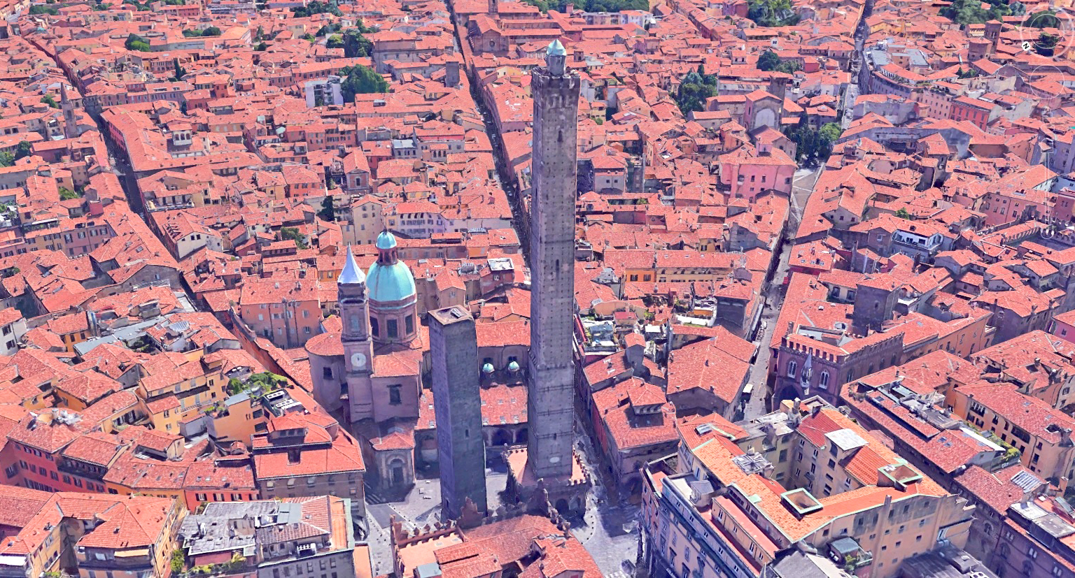 Bologna, its gates and its zodiac signs