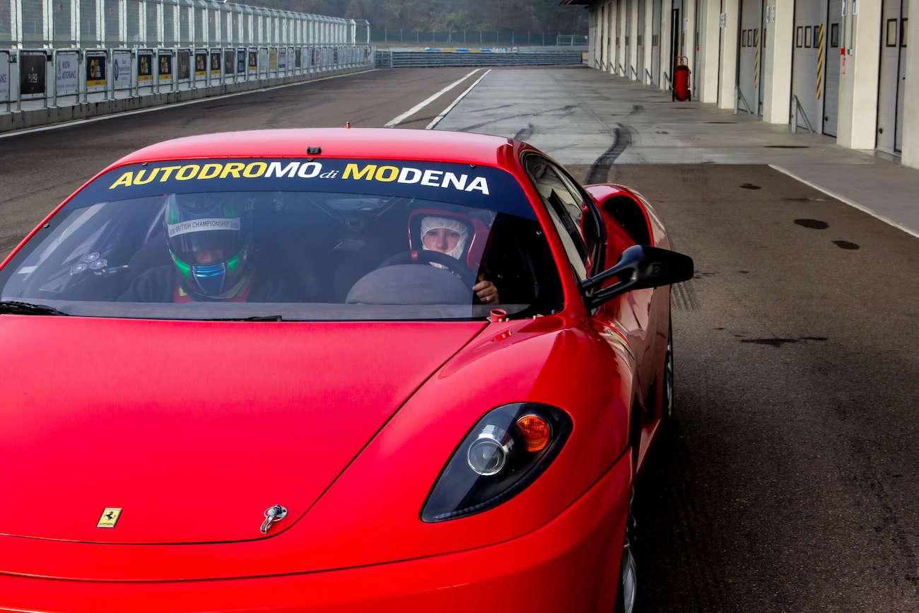 Ferrari Racing at Modena Circuit   Ph. Simon Falvo