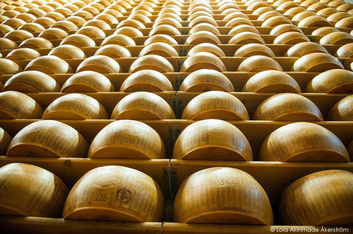 Parmigiano Reggiano | Photo © Lola Akinmade