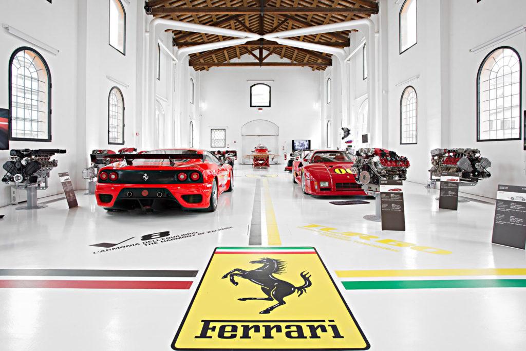 Enzo Ferrari Museum in Modena – Ph. Enzo Ferrari Museum