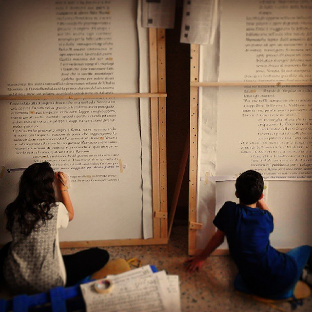 Eroico Manoscritto Biblioteca Malatestiana di Cesena Ph. @heyteacher__ via Instagram
