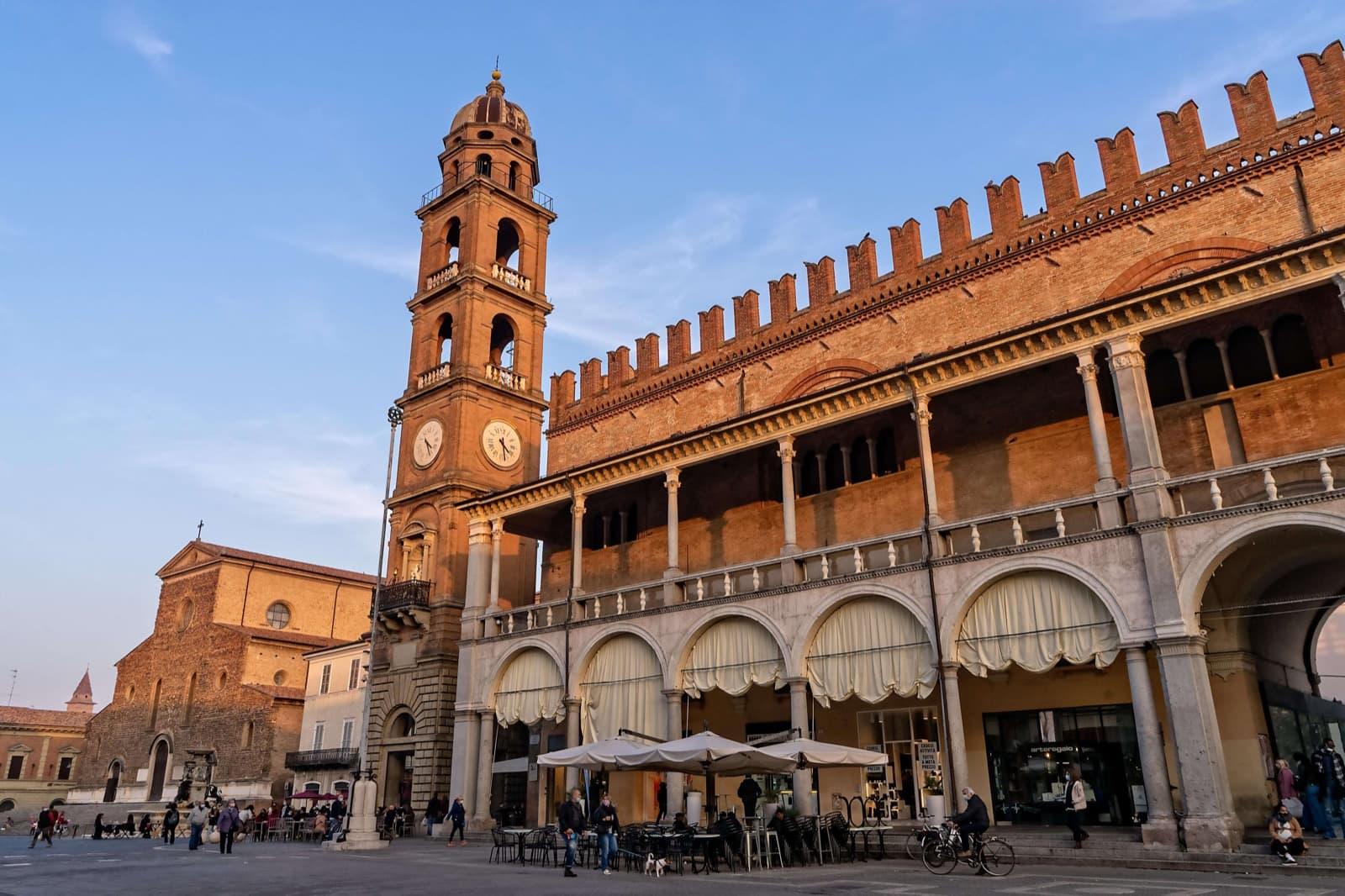 Faenza - Roads of Dante