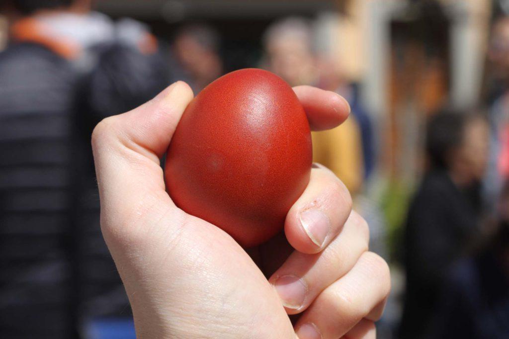 Fanano (MO), coccetto – uovo colorato, ph. Eugenio Soliani, Archivio Hotel Tirolo