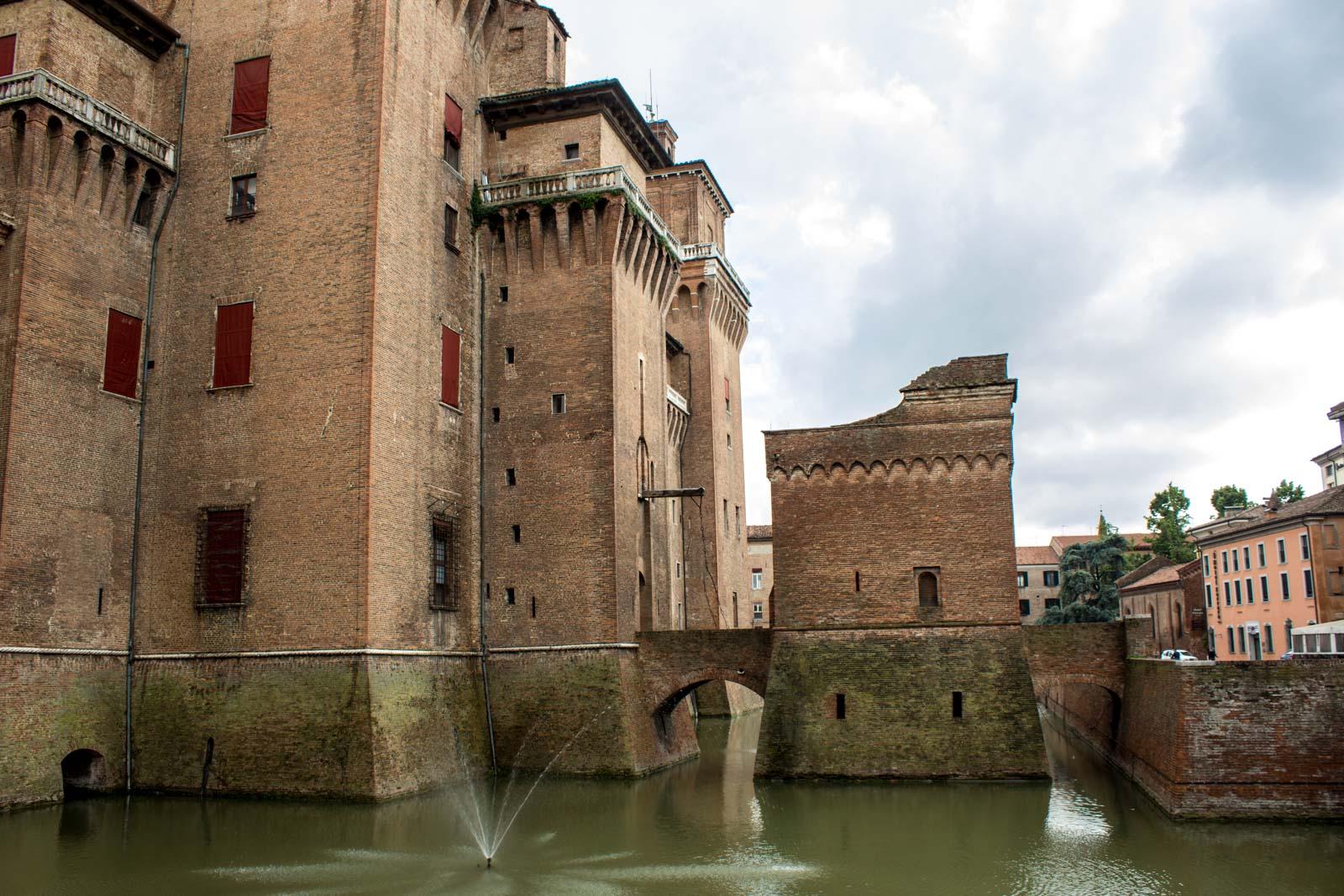 Ferrara, Este Castle | Ph. Michael Turtle