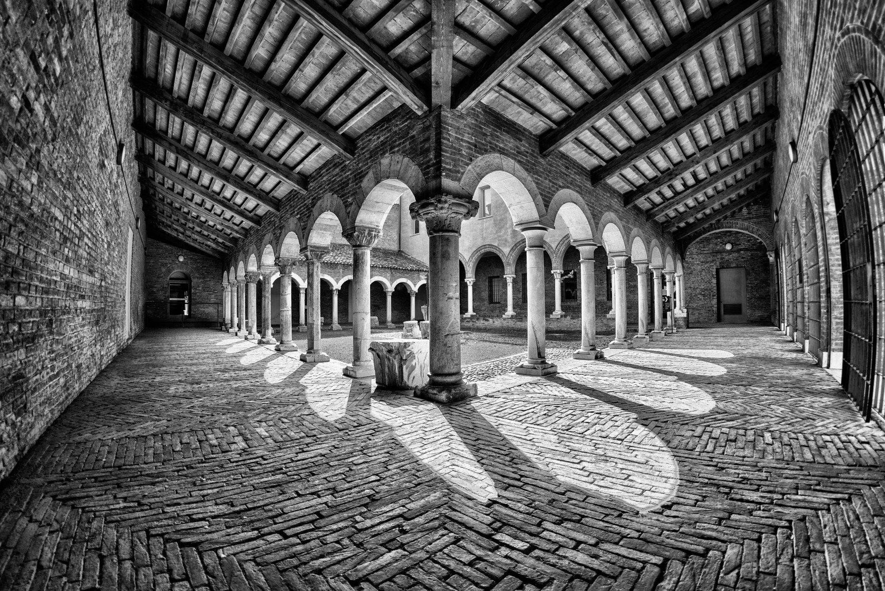 The eight most beautiful cloisters in Emilia-Romagna
