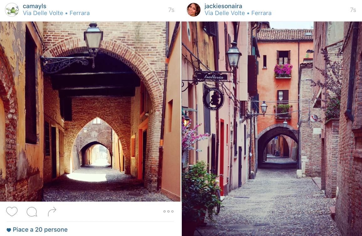 Via delle Volte, Ferrara