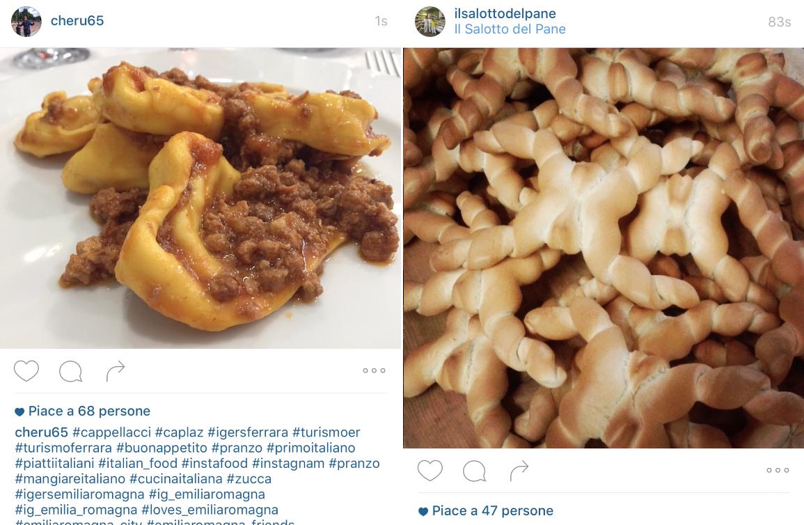 Typical food, Ferrara